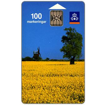 Phonecard for sale: Telia - Oland's landscape, 100 units