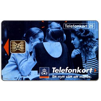 Phonecard for sale: Telia - Three girls, 06/92, 25 units