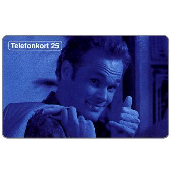 Phonecard for sale: Telia - Man with 'handset', 25 units