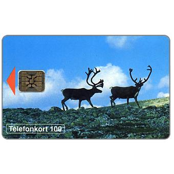Phonecard for sale: Telia - Reindeers, 100 units