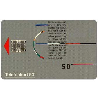 Phonecard for sale: Telia - Graphic design, 50 units