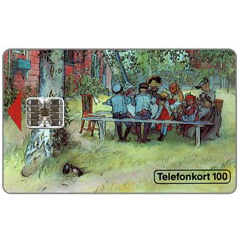 Phonecard for sale: Telia -  Breakfast, 100 units