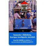 The Phonecard Shop: Sweden, Telia - Tourist tram, Goteborg, 100 units