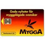The Phonecard Shop: Sweden, Telia - Mygga, 50 units