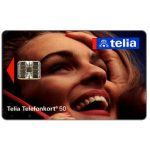 The Phonecard Shop: Sweden, Telia -  Woman at phone, 50 units
