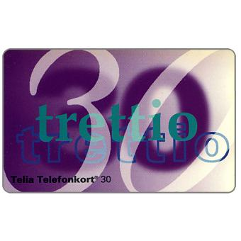Phonecard for sale: Telia - Definitive, 30 units