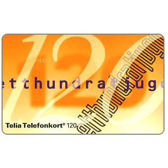 Phonecard for sale: Telia - Definitive, 120 units