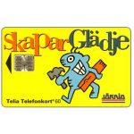 The Phonecard Shop: Sweden, Telia - Jarnia, 60 units