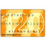 The Phonecard Shop: Telia - Definitive, 120 units