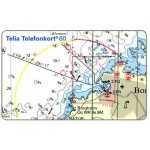 The Phonecard Shop: Sweden, Telia - Nautic Sports Map, 60 units