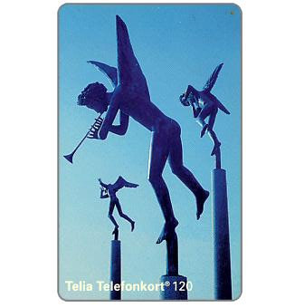Phonecard for sale: Telia - Angels, 120 units
