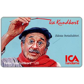 Phonecard for sale: Telia - ICA Member card, man, 04.1994, 120 units
