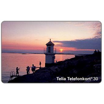 Phonecard for sale: Telia - Mollosund lighthouse, 30 units