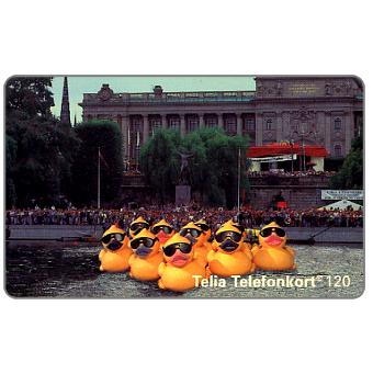 Phonecard for sale: Telia - Water Festival 1994, 120 units