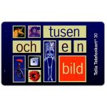 The Phonecard Shop: Telia - 1001 Images, 30 units