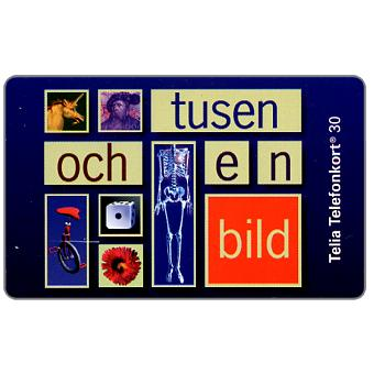 Phonecard for sale: Telia - 1001 Images, 30 units