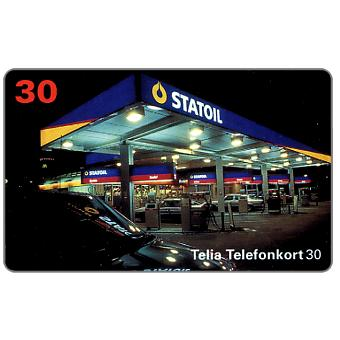 Phonecard for sale: Telia - Statoil, 07.1995, 30 units