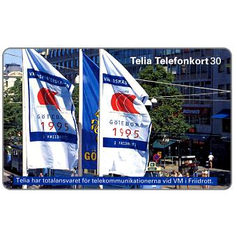 Phonecard for sale: Telia - World Athletic Games, 60 units