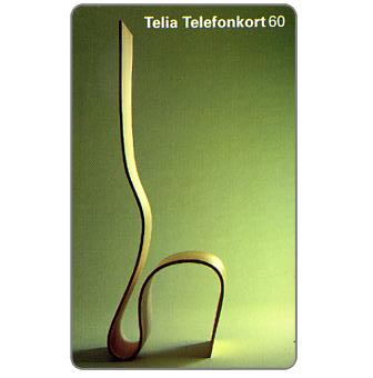 Phonecard for sale: Telia - H-shaped chair, 60 units