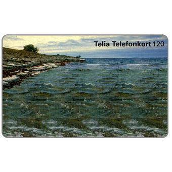 Phonecard for sale: Telia - 3D Magic Eye illusion image, 120 units
