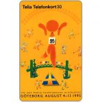 The Phonecard Shop: Sweden, Telia - World Athletic Games, 30 units