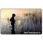 The Phonecard Shop: Sweden, Telia - Child fishing, 30 units