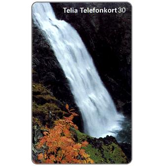 Phonecard for sale: Telia - Waterfall, 30 units