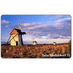 The Phonecard Shop: Sweden, Telia - Windmills, 30 units