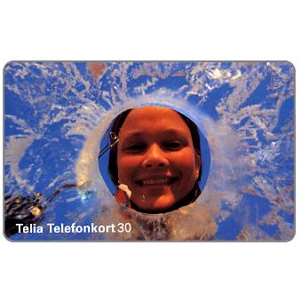 Phonecard for sale: Telia - Hole in the Ice, 30 units