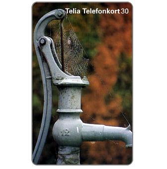 Phonecard for sale: Telia - Water pump, 30 units