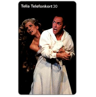 Phonecard for sale: Telia - Theater - Gunnel Fred, 30 units