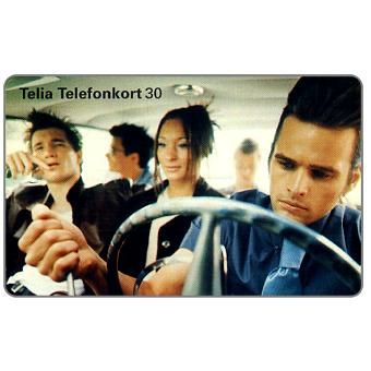 The Phonecard Shop: Telia - Hot-rod teenagers, 30 units