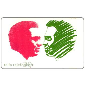 Phonecard for sale: Telia - Hobby 1 Cogitate, 30 units