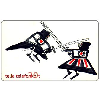 Phonecard for sale: Telia - Hobby 5 The Orient, 30 units