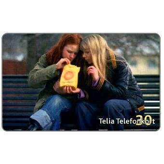 Phonecard for sale: Telia - Girls, 30 units