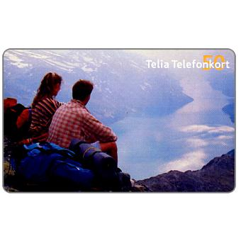 Phonecard for sale: Telia - Mountaineers, 50 units