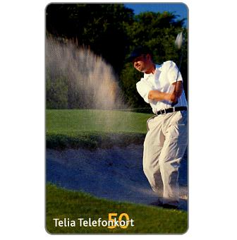 Phonecard for sale: Telia - Golf-player, 50 units