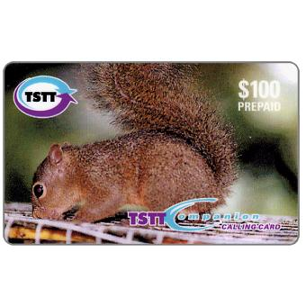 Phonecard for sale: Hungry Little Squirrel, TT$100