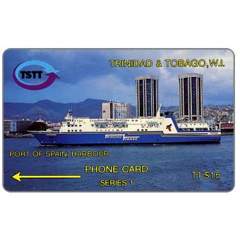 Phonecard for sale: Port of Spain Harbour, 2CCTA, TT$15