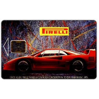 Phonecard for sale: Telecom Praha - Pirelli, Ferrari car, 80 units
