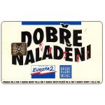 The Phonecard Shop: Telecom Praha - Dobre Naladeni, Czech Radios, 100 units