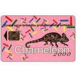 The Phonecard Shop: Czech Republic, Telecom Praha - Chameleon 2000, 100 units