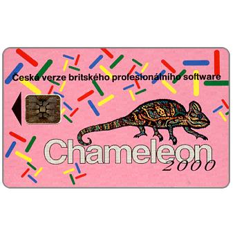 Phonecard for sale: Telecom Praha - Chameleon 2000, 100 units