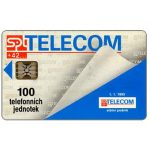 The Phonecard Shop: Czech Republic, SPT Telecom - 1.1.1993 Telecom, 100 units