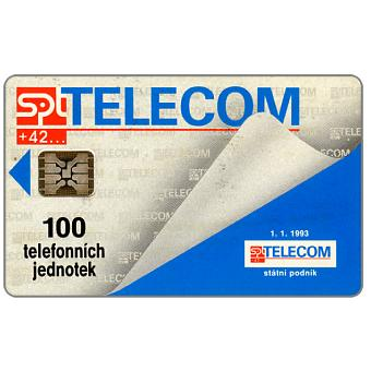 Phonecard for sale: SPT Telecom - 1.1.1993 Telecom, 100 units