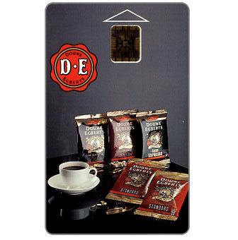Phonecard for sale: SPT Telecom – Douwe Egberts coffee, 80 units