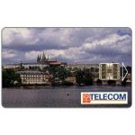 The Phonecard Shop: Czech Republic, SPT Telecom – View of Prague by day, 06.03, matt surface, 80 units