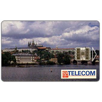 Phonecard for sale: SPT Telecom – View of Prague by day, 06.03, matt surface, 80 units