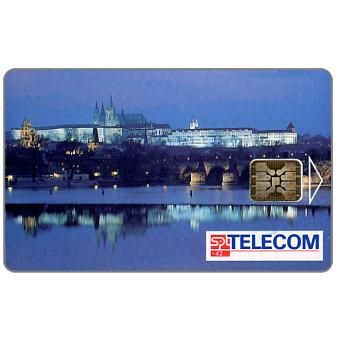 Phonecard for sale: SPT Telecom – View of Prague by night, 150 units