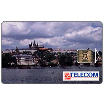 Phonecard for sale: SPT Telecom – View of Prague by day, 120 units